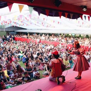 Tem Teatro no Jardim/ Plaza Shopping Divulgação