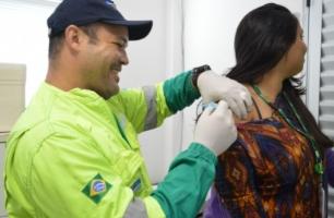 Dia da Saúde é celebrado com vacinação na Rota dos Coqueiros