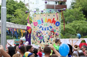 Plaza Shopping recebe 'Bloco do Bita'