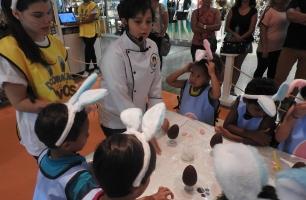 Chocolate e muita diversão na Páscoa do Plaza Shopping