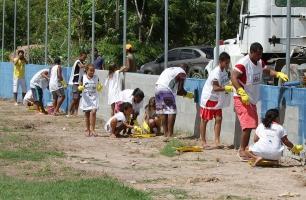Torneio de futebol de Massangana acontece neste Dia do Trabalhador