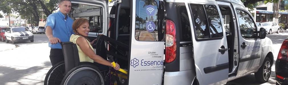 Essence Cuidados lança serviço de acompanhamento a cadeirantes e idosos com transporte acessível no Recife