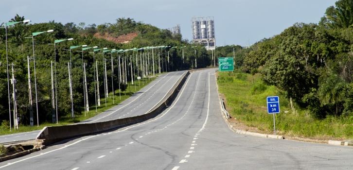 Via expressa concessionada recebe reforço na manutenção durante período chuvoso