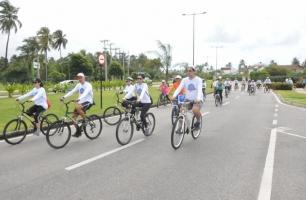 Rota dos Coqueiros recebe a 2ª edição de passeio ciclístico da CAAPE na Reserva do Paiva