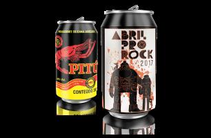 Pitú lança lata especial para o Abril pro Rock