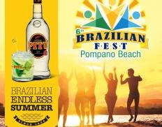 Pitú anima Pompano Beach na Flórida