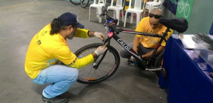 Estação Duas Rodas na Escola marca Dia Mundial do Ciclista