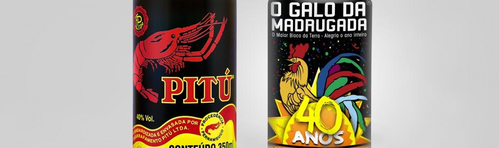 Pitú lança latinha em homenagem ao Galo da Madrugada